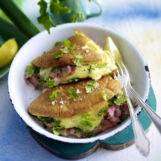 Omelette with Ham and Cheese.