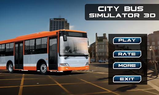 City Bus Simulator 3D - náhled