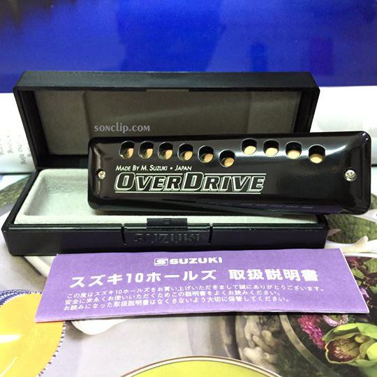Kèn Harmonica - Suzuki Overdrive MR-300 (key A)
