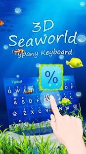 Seaworld Theme&Emoji Keyboard - náhled