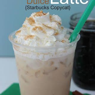 Starbucks Cinnamon Dolce Latte.
