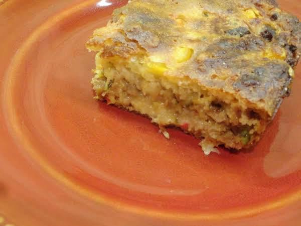 Joanna's Vegetarian Cornbread Casserole