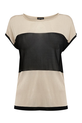 Photo: Colour Block Split Top. Was £35. Now £20. Get yours now at: http://www.warehouse.co.uk/colourblock-split-top/Sale-Preview/warehouse/fcp-product/307830