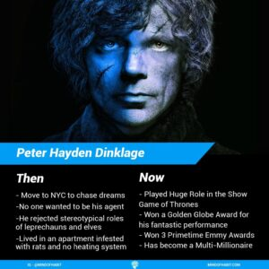 Peter Dinklage then vs now