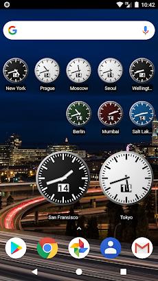 World Clock Widget 2020 Proのおすすめ画像1
