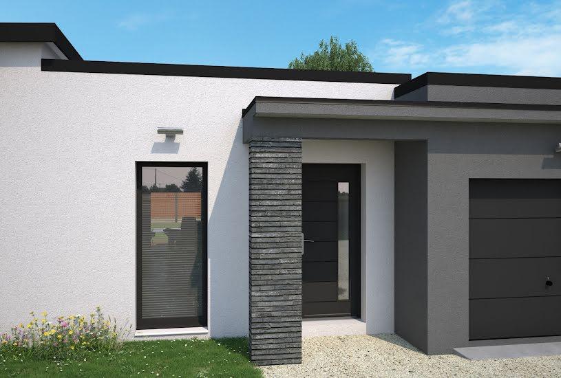Vente Terrain + Maison - Terrain : 922m² - Maison : 103m² à Sèvres-Anxaumont (86800)