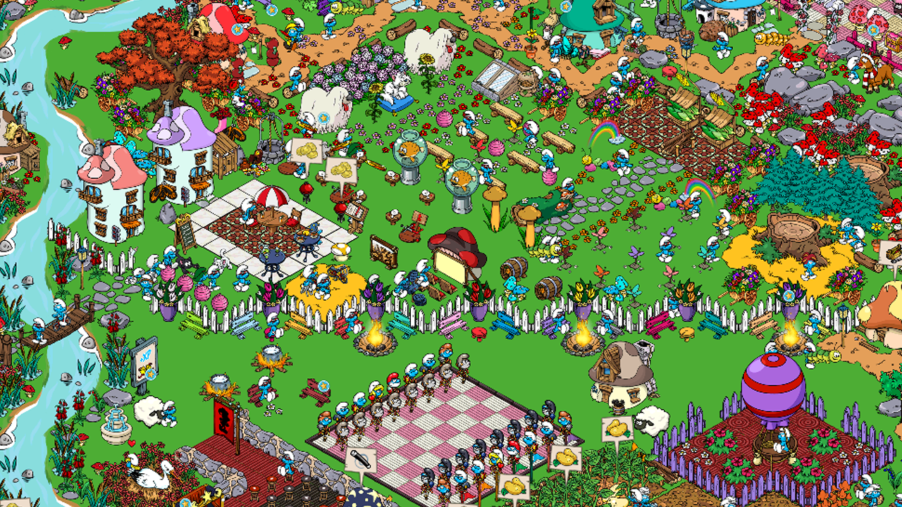 Smurfs' Village - screenshot