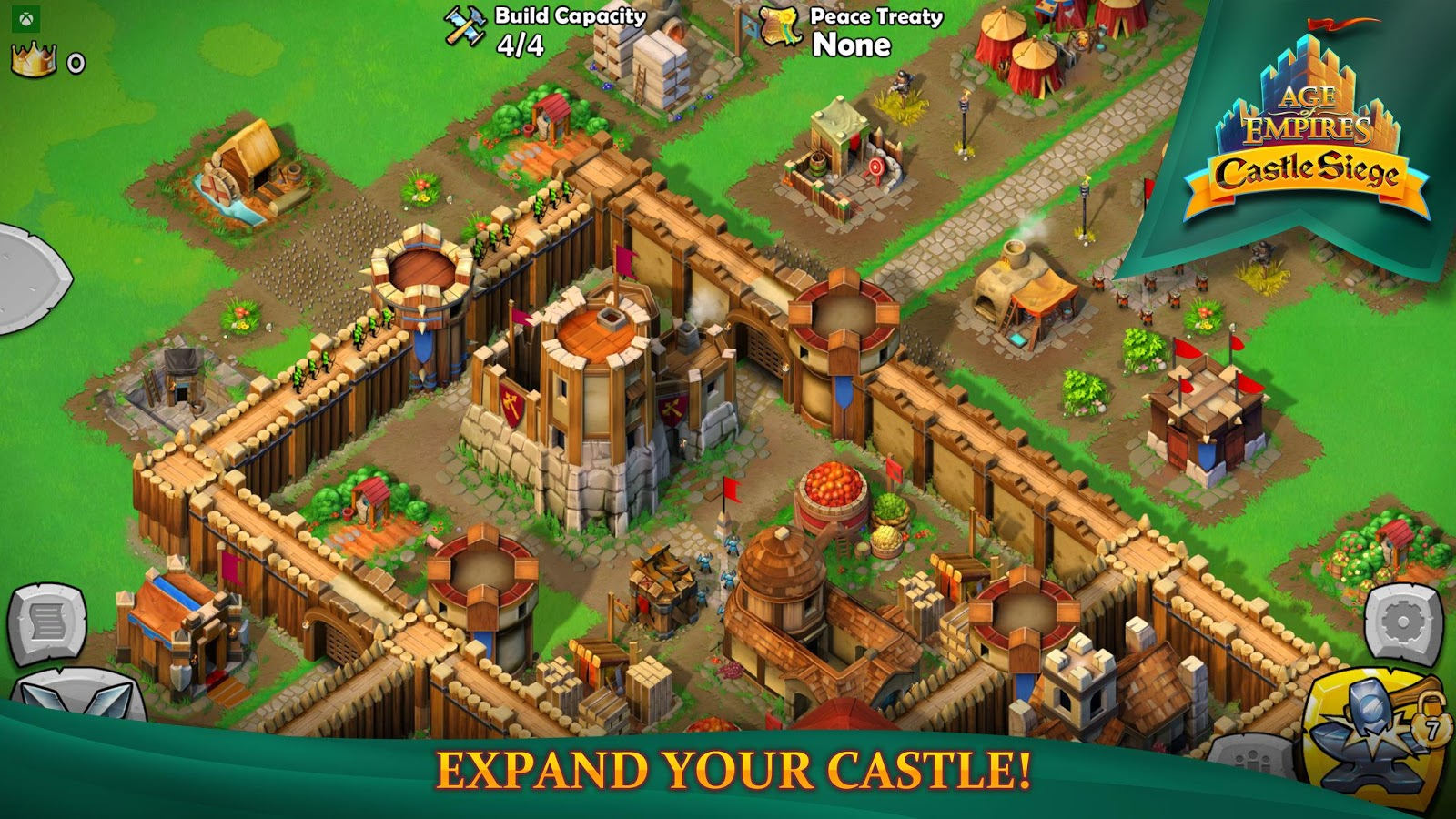 Age of Empires: Castle Siege– captură de ecran