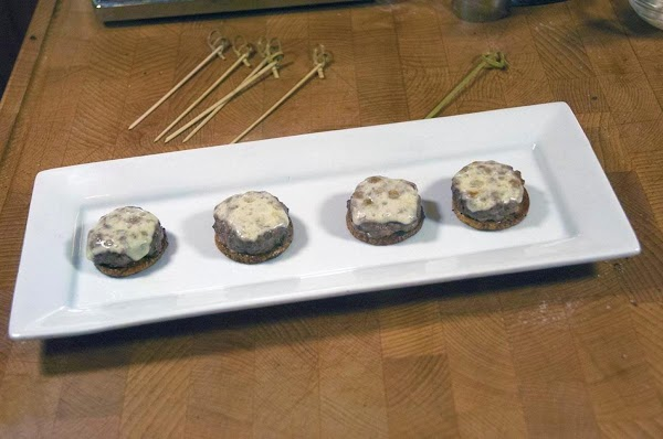 Remove from the baking sheet, and place on a serving plate.
