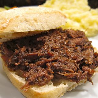 24-Hour Crock Pot Beef Sandwiches Recipe