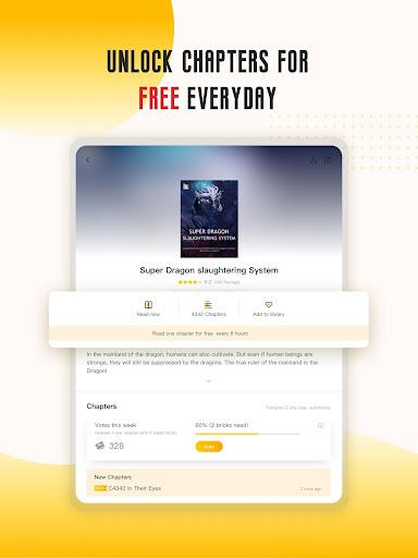 Babel Novel - Webnovel & Story Books Reading Apps screenshots 15