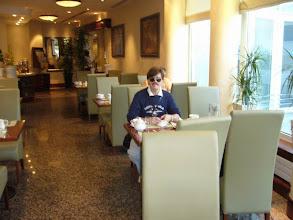 Photo: Śniadanie w hotelu Sheraton.