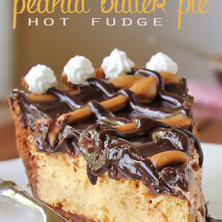 Fabulous Hot Fudge Peanut Butter Pie.