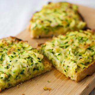 Zucchini Cheese on Toast.