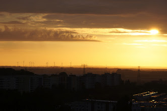 Photo: Sonnenaufgang über Berlin (mal anders)