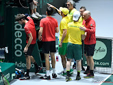 Ondanks 'zege' in dubbelspel tegen Australië ligt België uit de Davis Cup