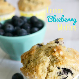 Lemon Blueberry Muffins.