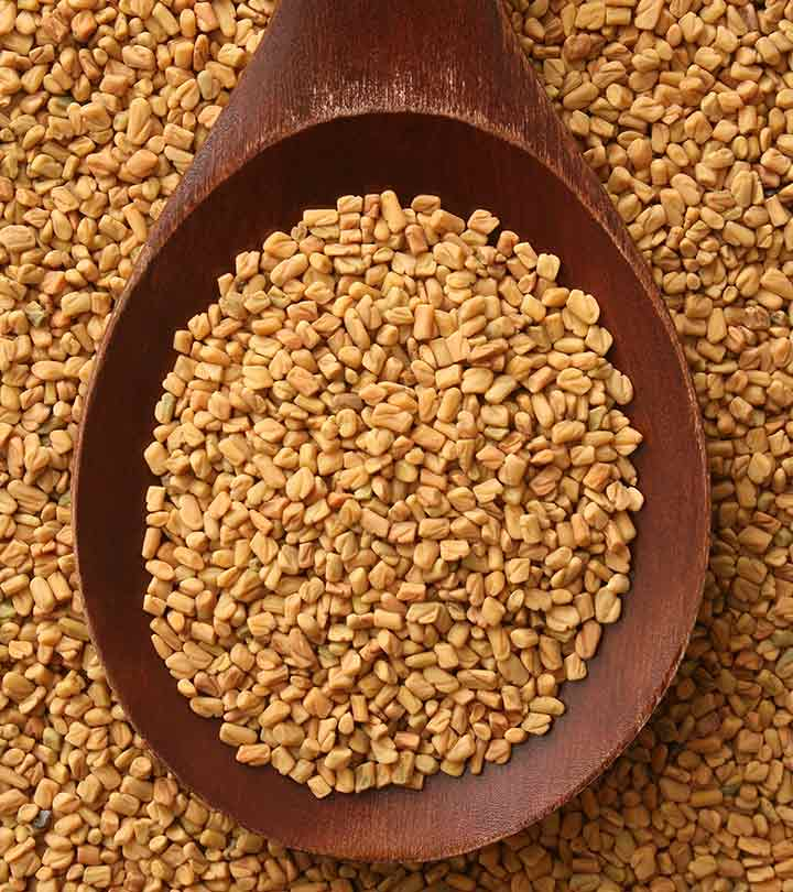 Quick and easy Methi hair mask
