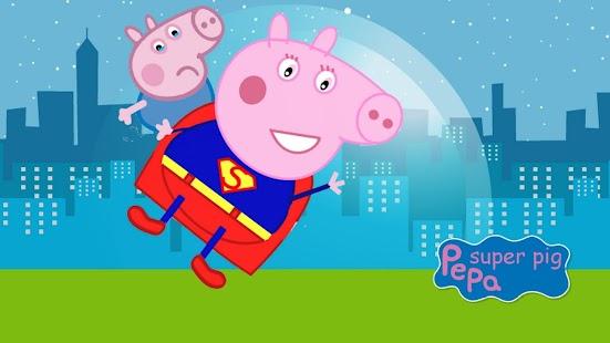 SuperHero Pepa world Pig - náhled