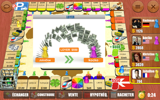 Rento Fortune - Online Dice Board Game fond d'écran 2
