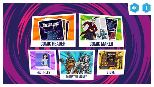 Doctor Who: Comic Creator 1.6 screenshots 1