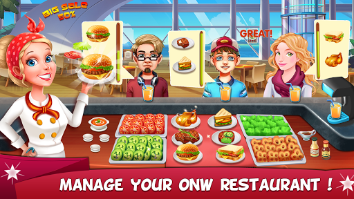 My Burger - Fast Food Restaurant Game 1.000.1003 screenshots 9