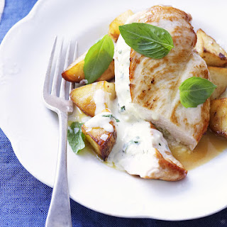 Feta and Basil Chicken Breasts.