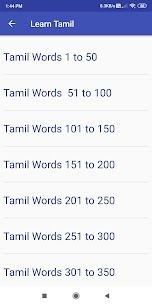 Learn Tamil through English 1.16 Download APK Mod 3