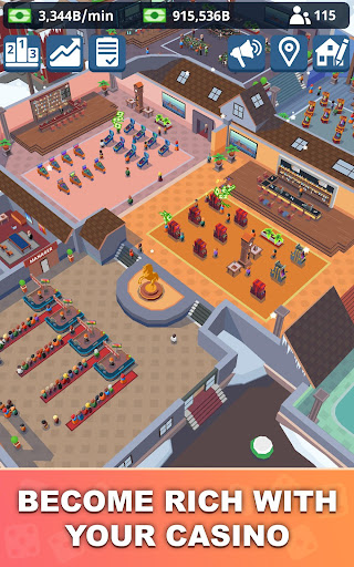 Idle Casino Manager - Tycoon Simulator apkmr screenshots 8