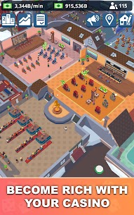 Idle Casino Manager – Tycoon Simulator  Apk Download For Android and Iphone 8