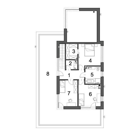 Optymalny D37 - Rzut piętra