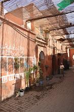 Photo: Marrakech : dans la médina