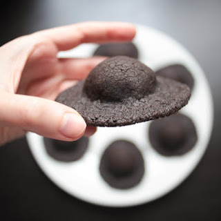 X-Files Chocolate Sunbutter UFO Cookies