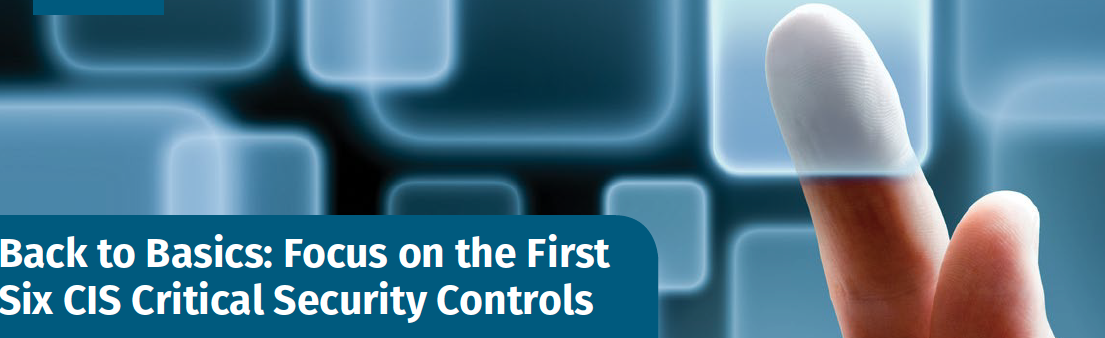 Basic Center for Internet Security's (CIS) Critical Security