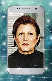 Carrie Fisher Wallpaper - náhled