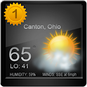 Weather forecast today Widget icon