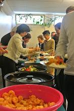 Photo: Le buffet