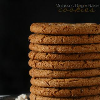 Molasses Raisin Spice Cookies Recipes