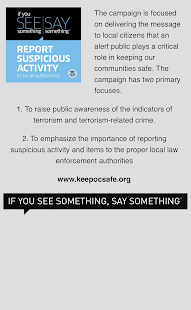 KeepOCSafe - náhled