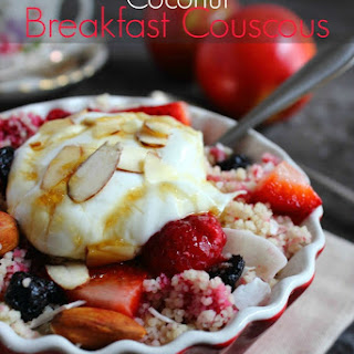 Mixed Berry Coconut Breakfast Couscous