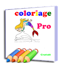 Cartoon Coloring Book Pro icon