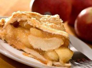 Sour Cream Apple Pie -diabetic Connect Recipe