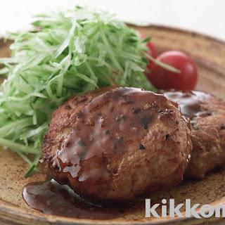 Japanese-Style Chicken Salisbury Steak | Kikkoman Corporation.