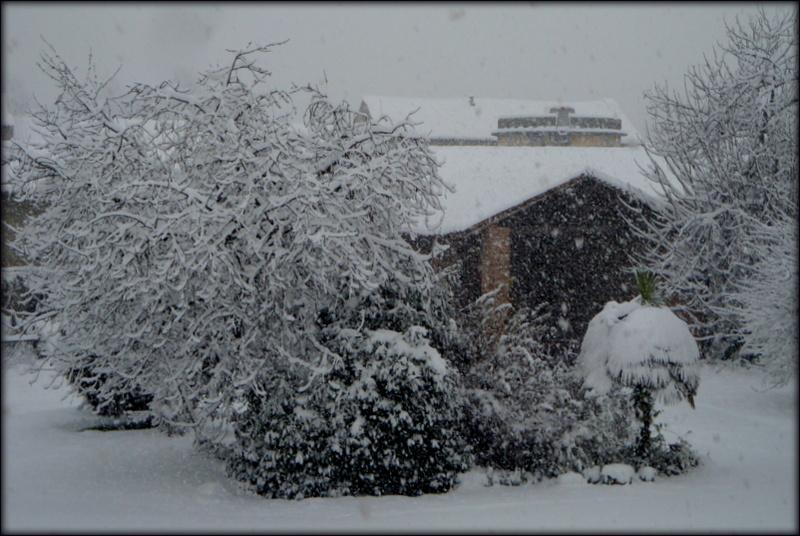 Il cortile della cascina di clagia