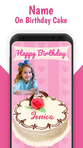 Admirable Name On Birthday Cake Apk By Birthday Lyrical Photo Video Maker Funny Birthday Cards Online Aeocydamsfinfo