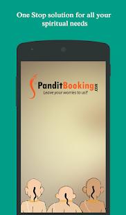 Panditbooking screenshot
