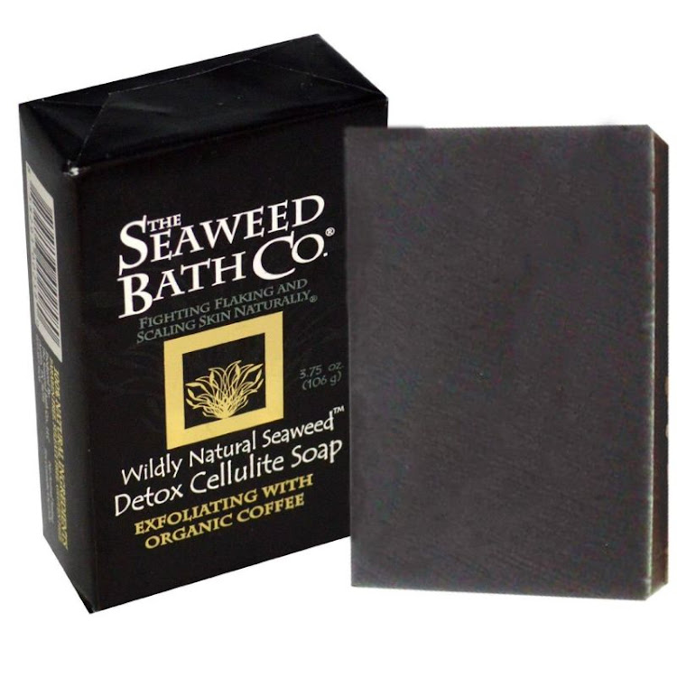 Seaweed Bath Co., Detox anti Cellulite Soap, 3.75 oz (106 g) by Supermodels Secrets