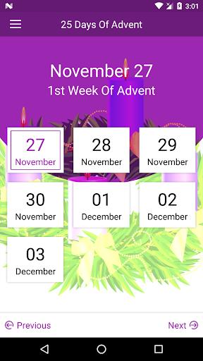 25 Days of Advent App Screenshot