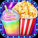 Crazy Movie Night Food Party - Make Popcorn & Soda icon