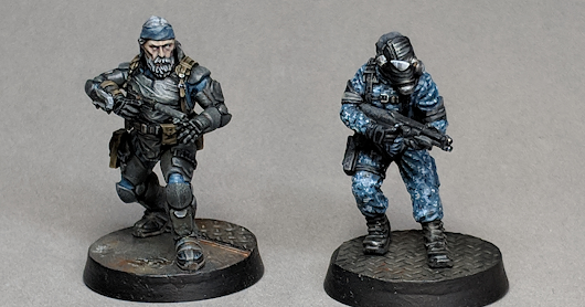 Imperial Guard: Painting a close quarters specialist